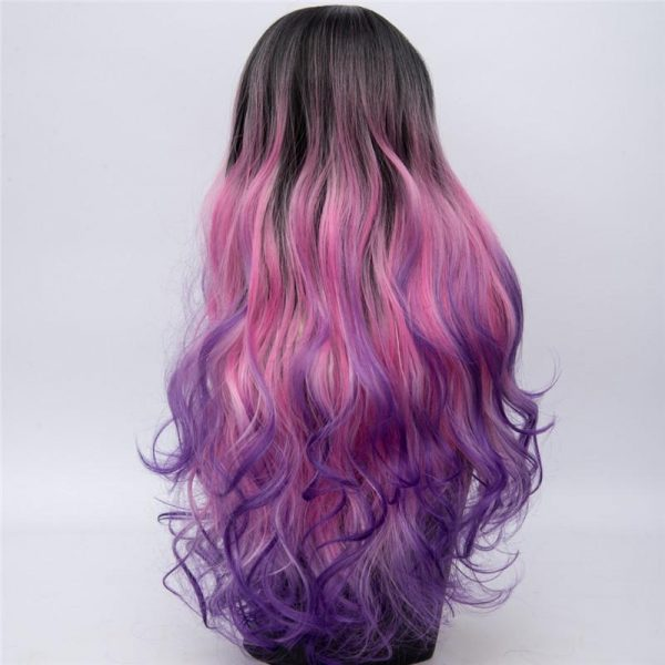 Fashion Top Quality Harajuku Braided Rainbow Wigs