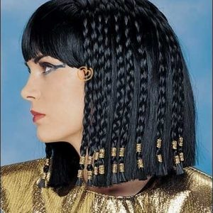 High End Deluxe Queen Of The Nile Costume Braided Wig By Franco