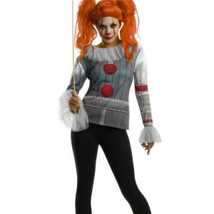 Fashion Female Pennywise Adult Costume Top