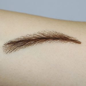 Limited Fixvic Human Hair Eyebrow Wig Tattoos
