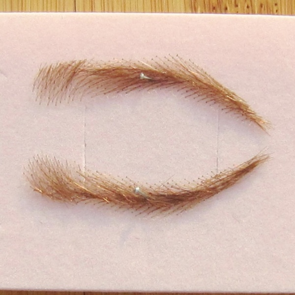 Cheap Women's Human Hair Eyebrow Wig