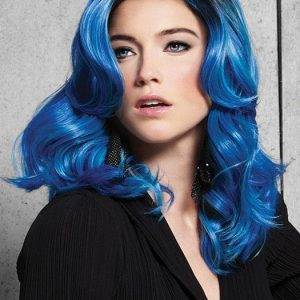 Top Quality Blue Waves Hf Synthetic Wig Basic Cap