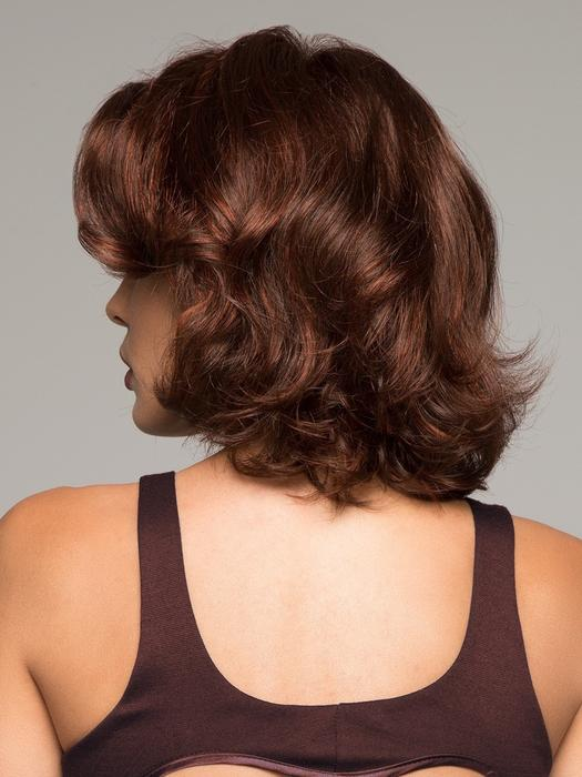 Fashion Women Short Curly Synthetic Lace Front Monofilament Wig Hand-tied By Rooted