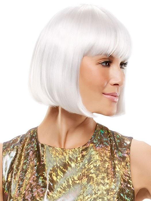 Cheap Colored Chic Doll Synthetic Wig Basic Cap