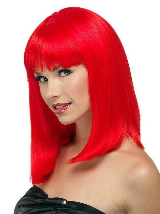 High End Fashion China Doll Long Synthetic Wig Basic Cap