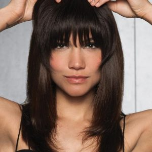 Top Quality & Fashion Human Hair Bang Clip In