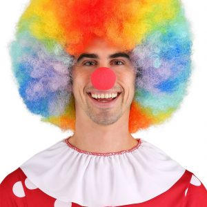 Cheap Deluxe Jumbo Clown Wig