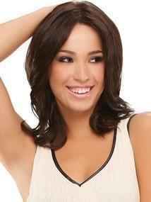 Fashion Women Monofilament Mid-length Straight Red Synthetic Lace Front Wig Mono Top By Rooted
