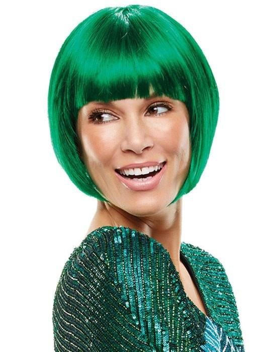 Top Quality Green Icon Synthetic Wig Basic Cap