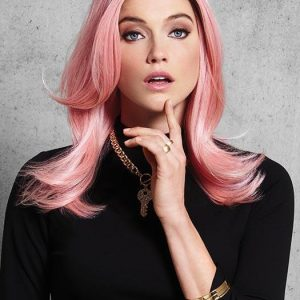 Fashion Pinky Promise Hf Synthetic Wig Basic Cap