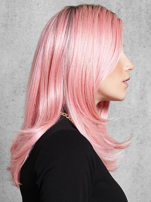Fashion Pinky Promise Hf Synthetic Wig Basic Cap