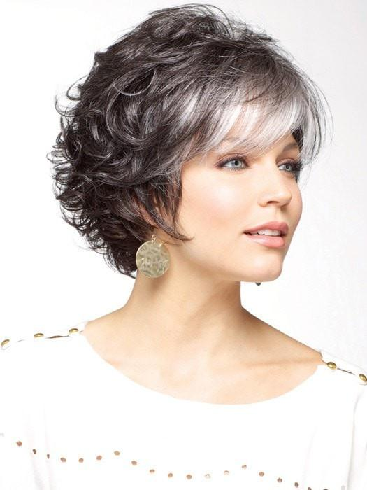 Fashion Women Layered Short Straight Synthetic Wig Basic Cap By Rooted