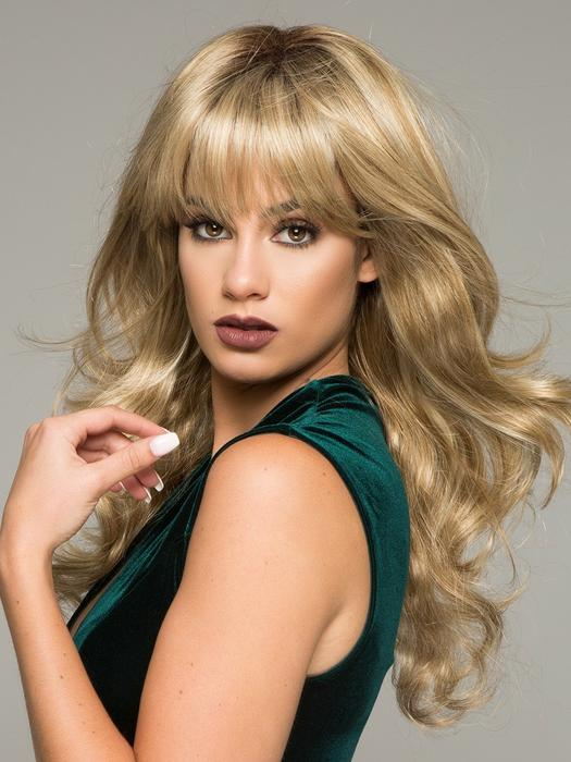 Fashion Women Long Wavy Synthetic Wig Basic Cap By Rooted