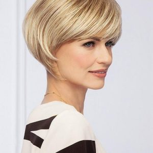 Fashion Women Short Straight Synthetic Wig Basic Cap