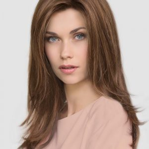 Top Quality Women Straight Synthetic Lace Front Wig Mono Part By Rooted
