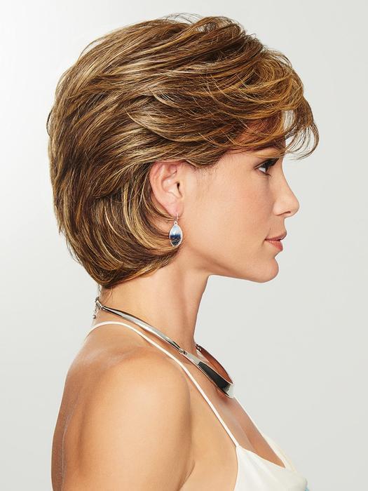 Cheap Women Short Straight Hf Synthetic Wig Basic Cap