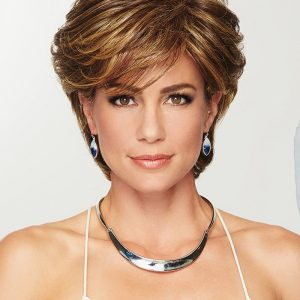 Cheap Women Short Straight Hf Synthetic Wig Basic Cap