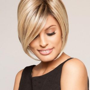 Top Quality Women Synthetic Lace Front Wig Basic Cap By Rooted
