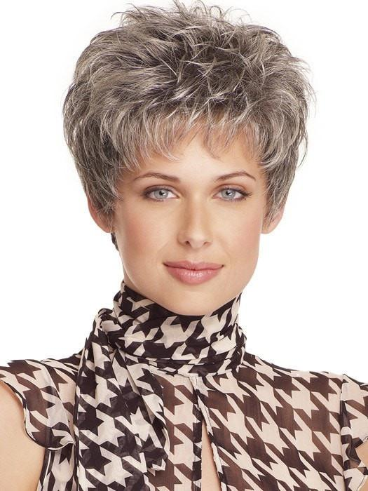 Top Quality Women Short Straight Monofilament Synthetic Wig Mono Top