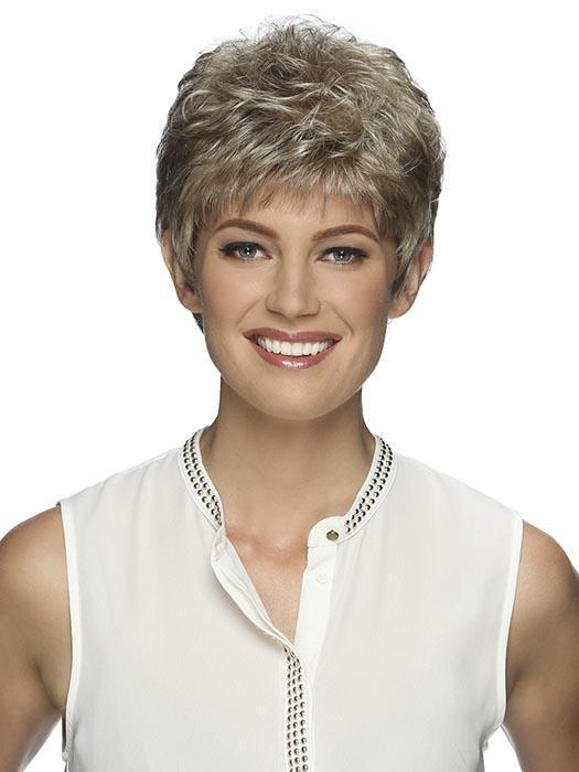 Cheap Women Short Straight Pixie Synthetic Wig Basic Cap