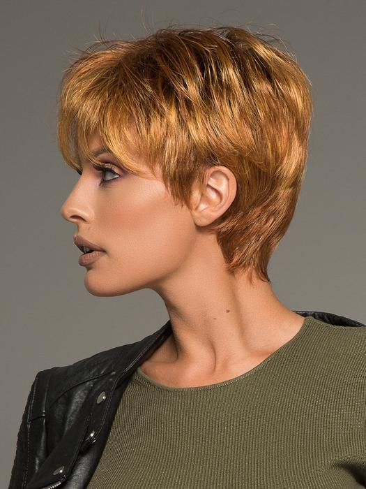 Fashion Women Short Straight Lace Front Synthetic Wig Mono Crown By Rooted