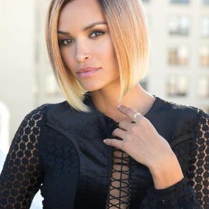 Fashion Women Short Synthetic Lace Front Wig By Rooted
