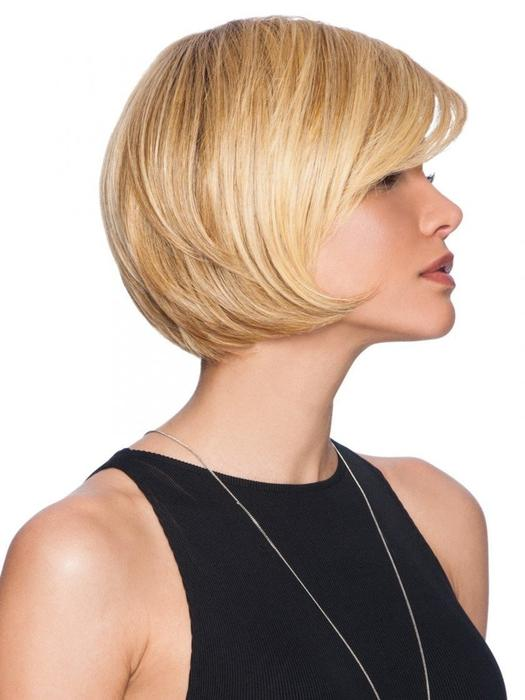 Fashion Women Short Straight Hf Synthetic Wig Basic Cap