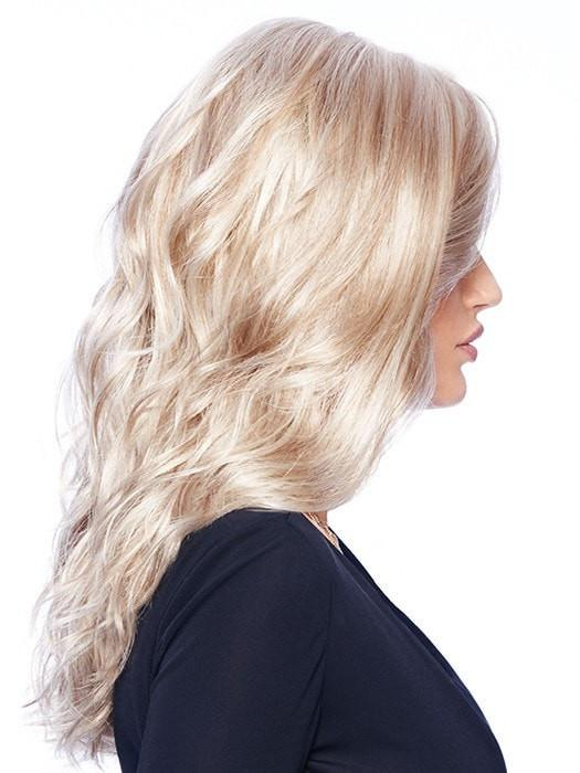 Fashion Women Straight Wavy Monofilament Synthetic Lace Front Wig By Rooted