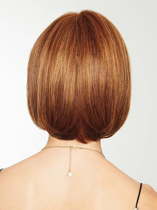 Cheap Women Short Straight Mid-length Hf Synthetic Wig Basic Cap