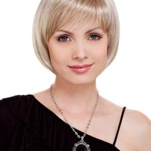 Fashion Women Short Straight Synthetic Wig Basic Cap By Rooted