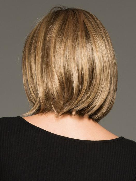 Cheap Women Short Straight Mid-length Synthetic Wig Bob By Rooted