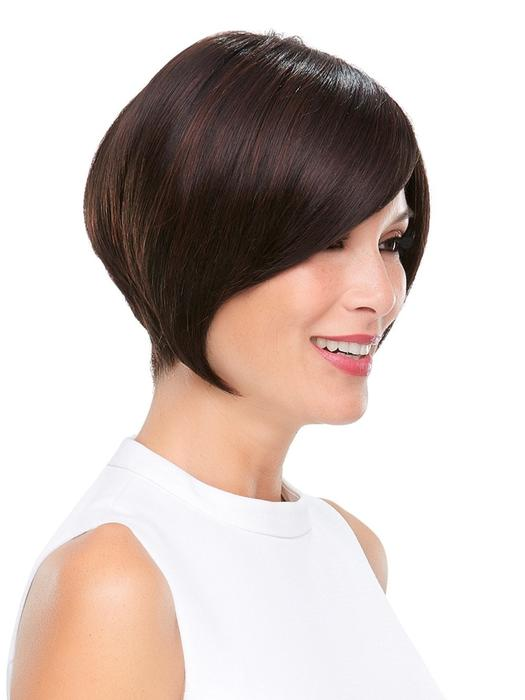 Cheap Women Short Straight Monofilament Synthetic Wig Mono Top By Rooted