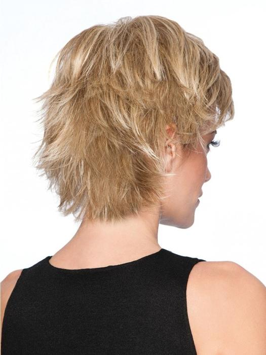High End Women Short Straight Hf Synthetic Wig Basic Cap By Rooted