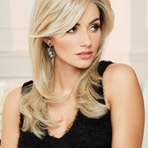 Fashion Women Straight Monofilament Hf Synthetic Lace Front Wig By Rooted