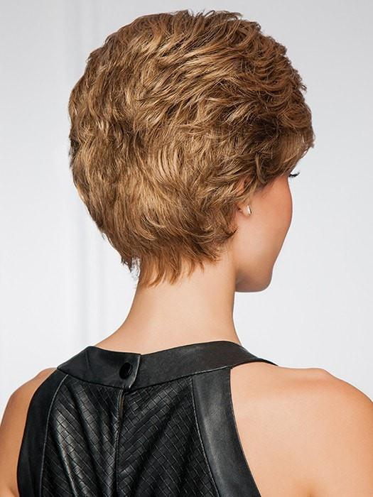 Fashion Women Short Straight Synthetic Wig Mono Crown