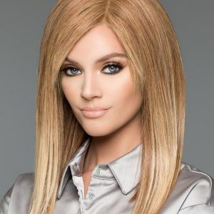 Top Quality Women Long Straight Human Hair Wig Hand-tied