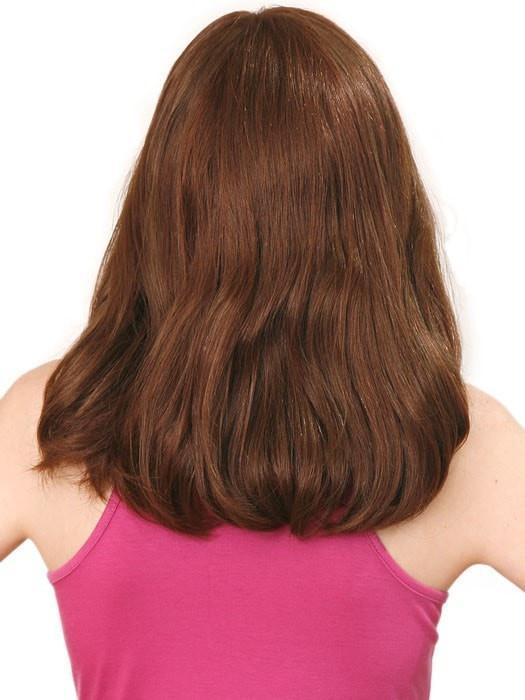 Top Quality Women Long Straight Monofilament Human Hair Wig Mono Top
