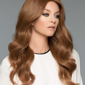 High End Women Long Straight Monofilament 100% Human Hair Wig Hand-tied