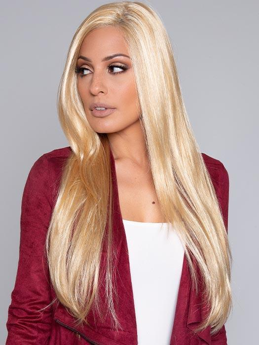 High End Women Monofilament Straight Synthetic Lace Front Wig By Rooted