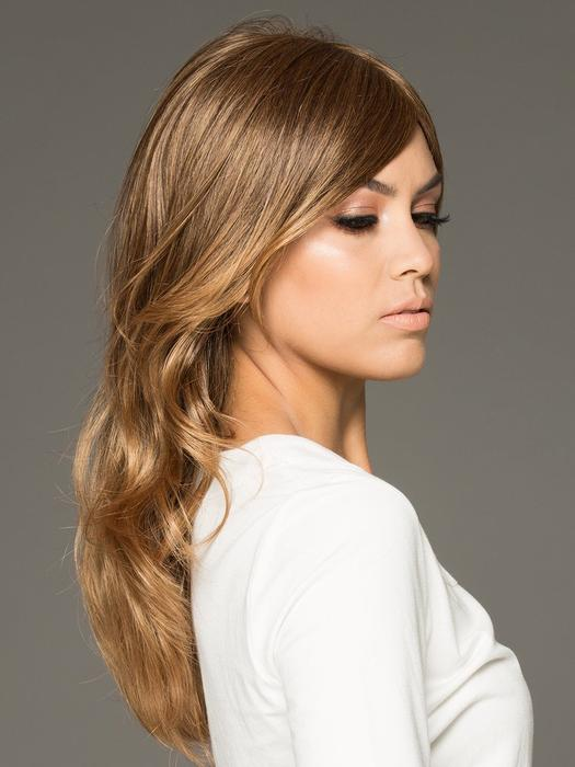 Fashion Blonde Synthetic Wig Mono Top