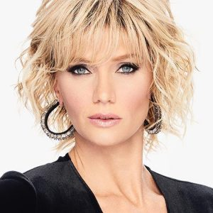 Fashion Women Short Curly Hf Synthetic Wig Basic Cap By Rooted