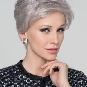 High End Women Short Straight Synthetic Lace Front Wig Ht By Rooted