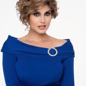 Fashion Women Monofilament Short Synthetic Lace Front Wig By Rooted