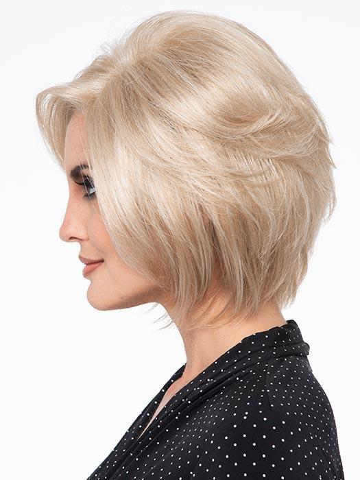 Cheap Women Short Straight Monofilament Synthetic Lace Front Wig By Rooted