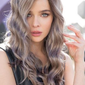 Top Quality Women Long Synthetic Lace Front Wig By Rooted