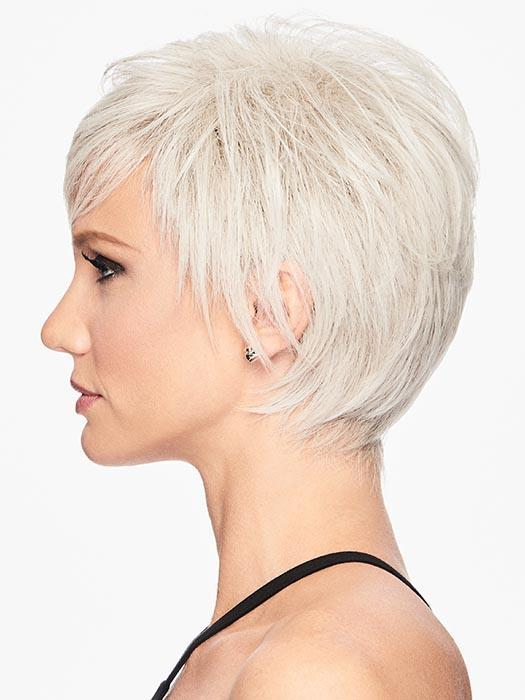 Cheap Women Short Straight Hf Synthetic Wig Basic Cap By Rooted