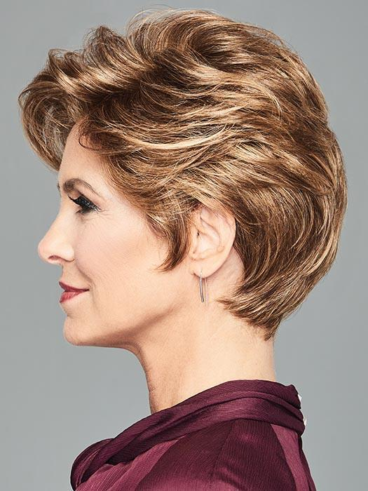 Top Qualit Women Short Straight Synthetic Lace Front Wig By Rooted