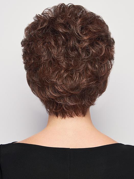 Fashion Women Blonde Short Wavy Synthetic Wig Basic Cap