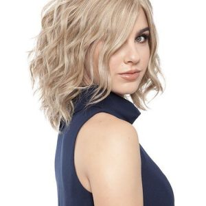 Top Quality Women Short Straight Remy Human Hair Wig Brunette