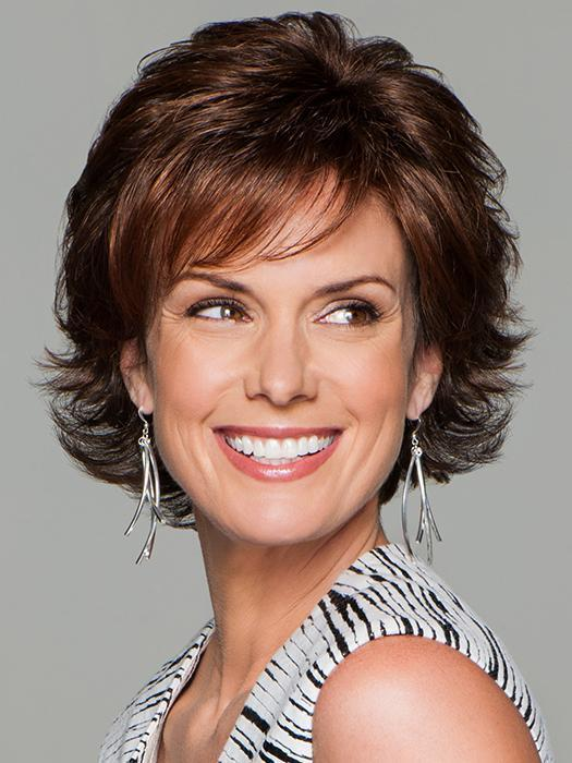 Fashion Women Short Straight Monofilament Synthetic Lace Front Wig
